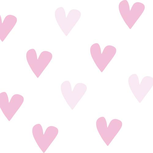 Hart stickers klein