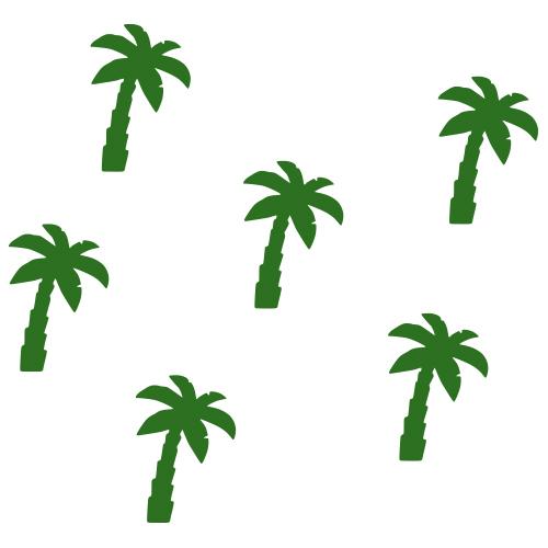 Palmboom stickers