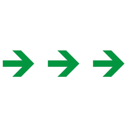 Sticker pijlen