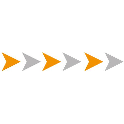 Bewegwijzering pijlen stickers