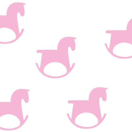 Hobbelpaard stickers