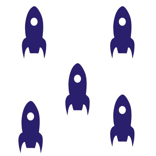 Raket stickers