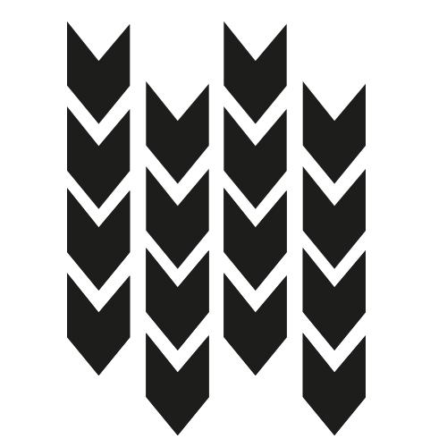 Pijlen muurstickers