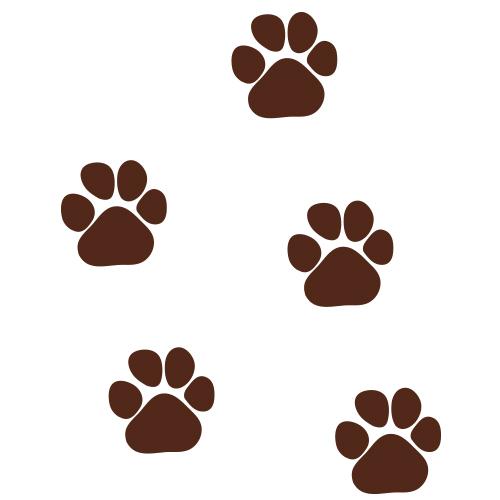 Kattenpootjes stickers
