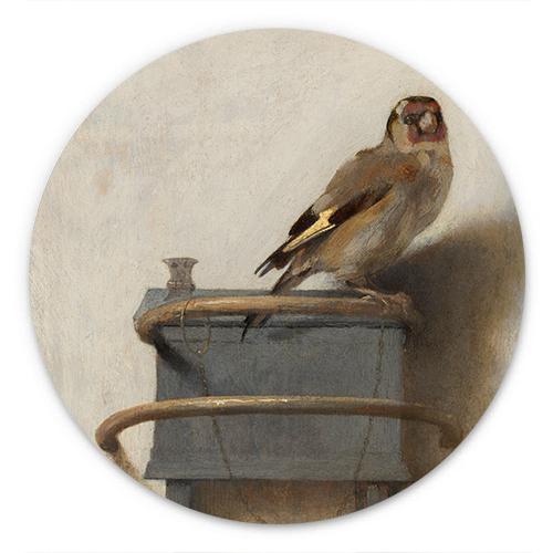 Wanddecoratie Het puttertje | Carel Fabritius