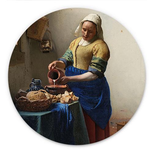 Wanddecoratie Het melkmeisje | Johannes Vermeer