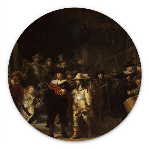 Wanddecoratie De Nachtwacht | Rembrandt van Rijn