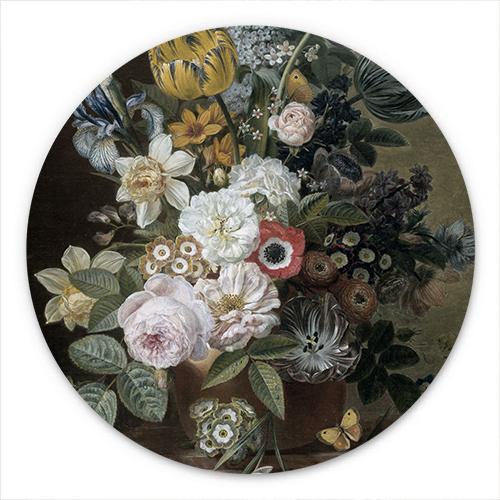 Wanddecoratie Stilleven met bloemen | Eelke Jelles Eelkema