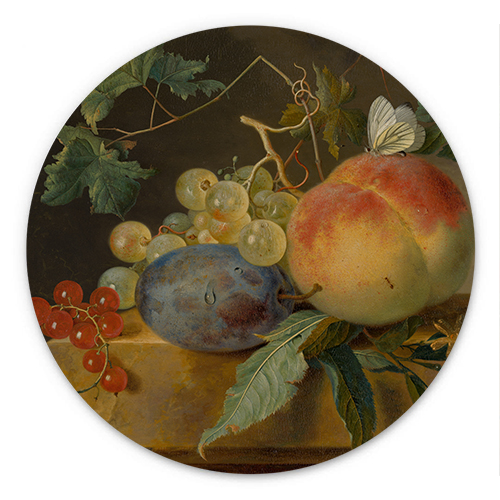 Wanddecoratie Fruitstilleven | Jan van Huysum