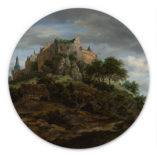 Gezicht op kasteel Bentheim | Jacob van Ruisdael
