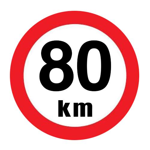 Snelheidssticker Nederland