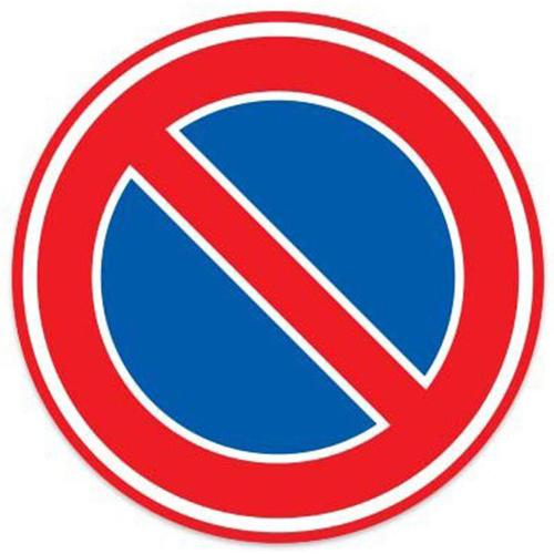 Parkeerverbod sticker