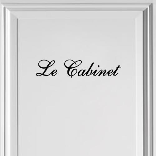 Le Cabinet servieskast sticker