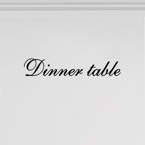 Meubeltekst Dinner Table
