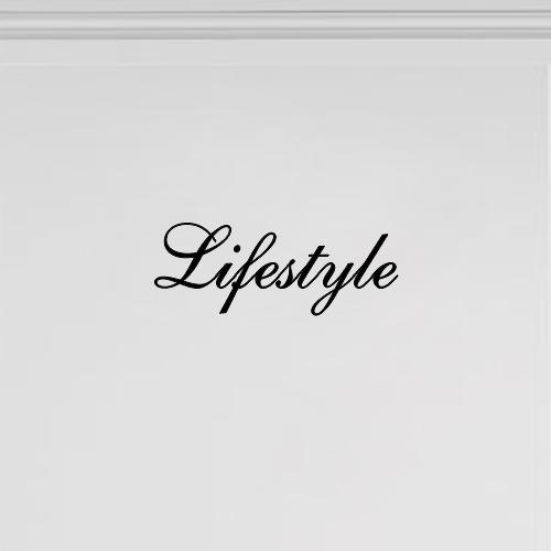 Meubeltekst Lifestyle
