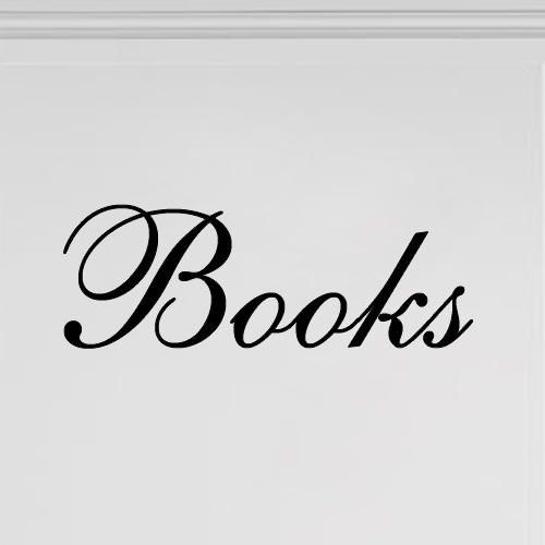 Boekenkast stickers Books