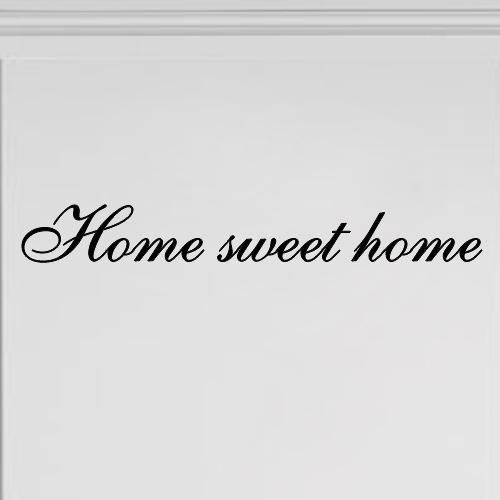 Interieursticker Home sweet home