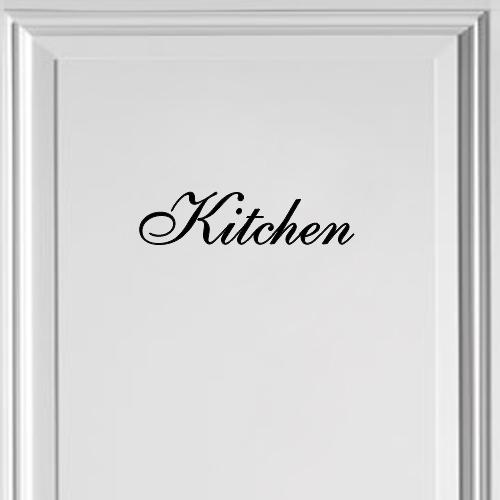Decoratiesticker kitchen