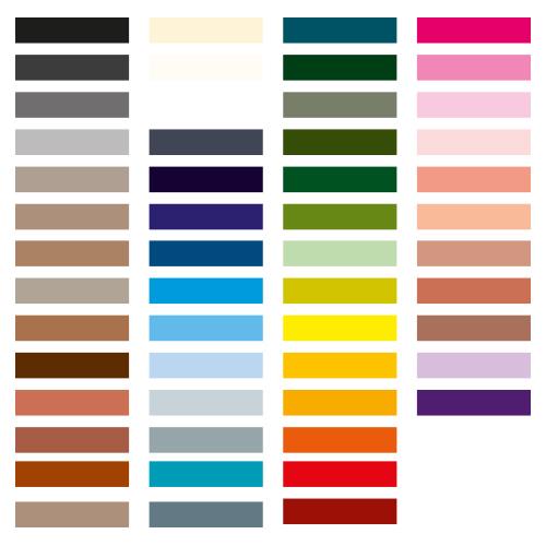 naamsticker kleuren