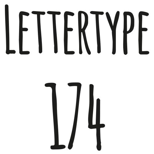 Lettertype 174