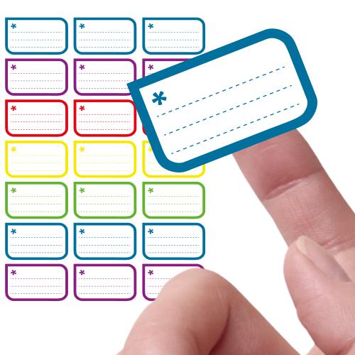 Etiketten stickers