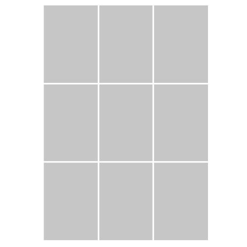 Raamfolie met vierkanten