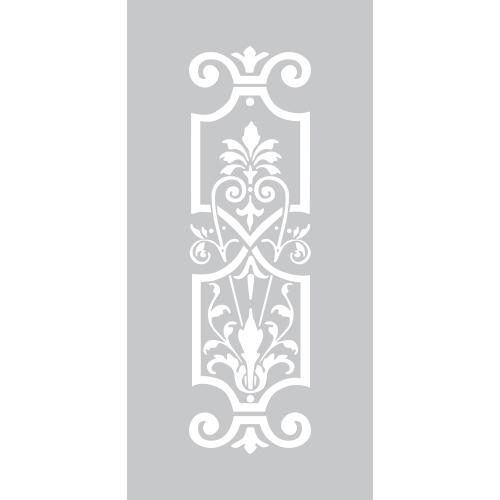 Spiegel decoratiesticker - raamfolie op maat