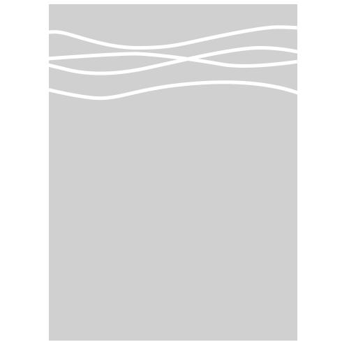Raamfolie golvende lijnen
