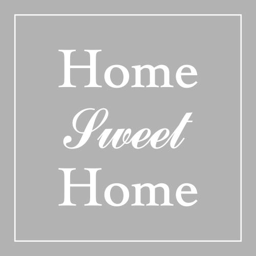 Raamfolie home sweet home