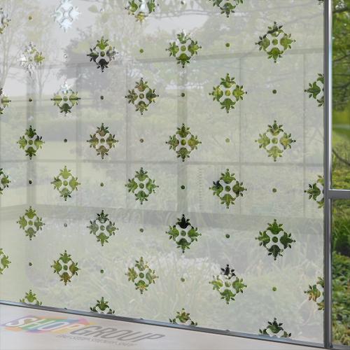 Glasfolie met motief