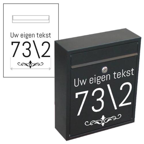 Postbus sticker