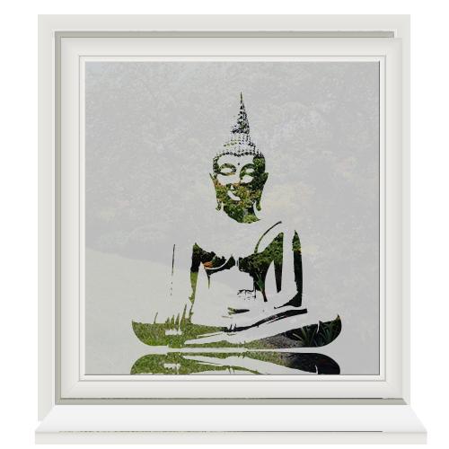 Buddha raamfolie