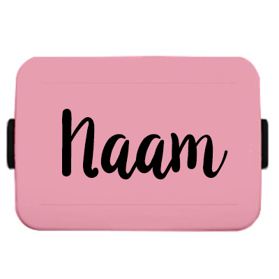 Naamsticker lunchbox