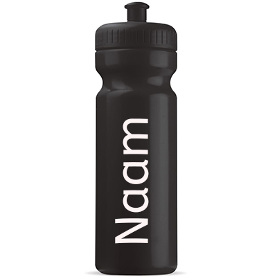 Naam sticker Bidon