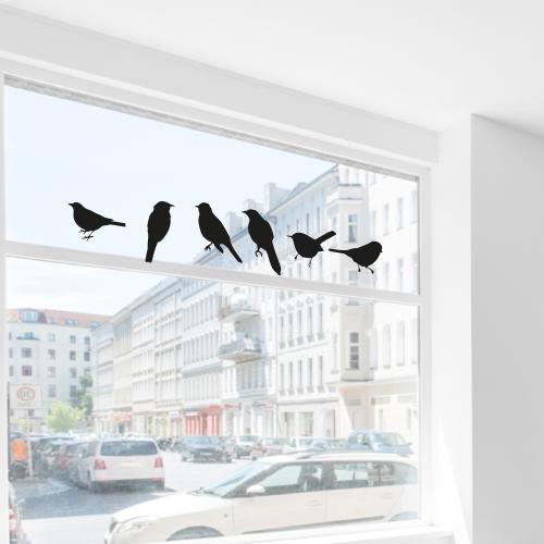 Vogel stickers